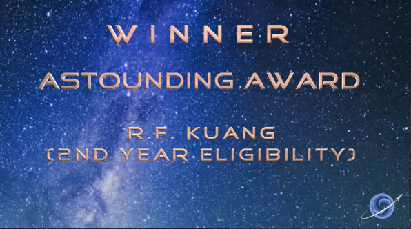 the Astounding Award!